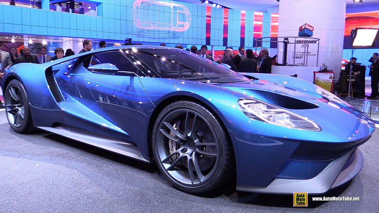 Ford GT Exterior Walkaround Detroit Auto Show YouTube - Car show schedule