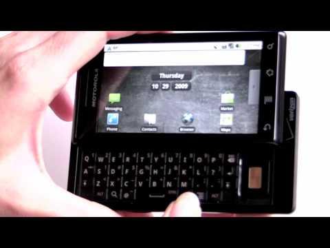 Motorola Droid for Verizon Video Review