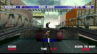MTV Sports Skateboarding: Stunt Mode Completion [HD]