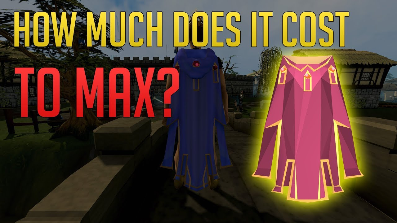 Download How much it costs to MAX your account in Runescape 3