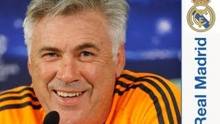 Galatasaray - Real Madrid: Rueda de prensa de Ancelotti