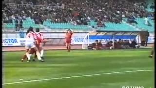 Archivio Bari Calcio - Bari-Roma 2-1 1991-1992 Voeller,Platt,Platt