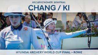Chang Hye Jin v Ki Bo Bae – Recurve Women's Semifinal   Rome 2017