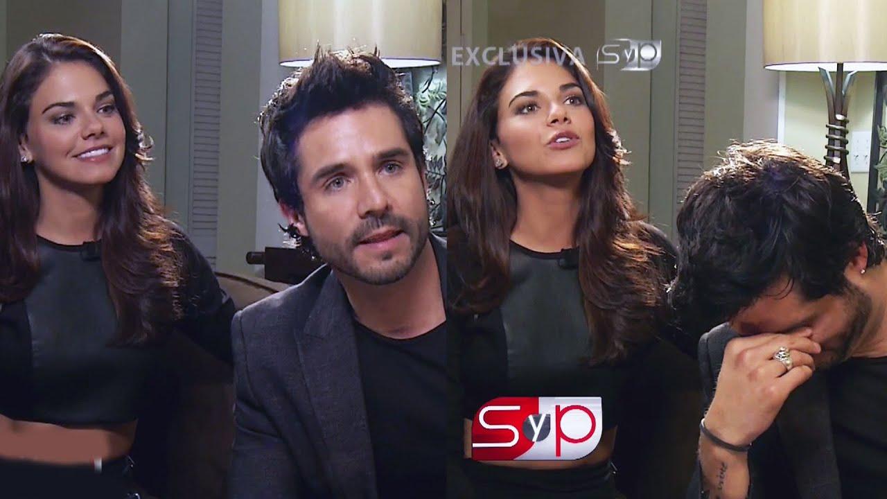 José Ron detuvo entrevista cuando le preguntaron de Livia Brito