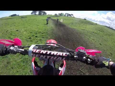 2018 crf250r crash!! south taranaki manutahi track