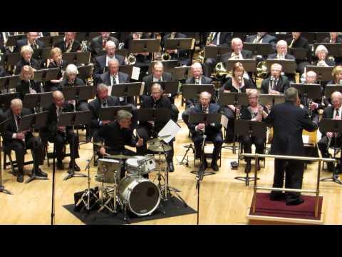 Concerto for Drum Set and Concert Band, soloist, Michael Burritt