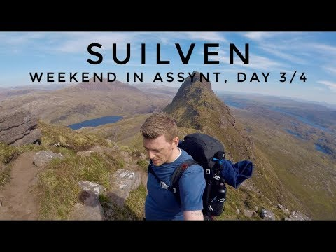SUILVEN (Weekend In Assynt Day 3), 27. 05 .2018
