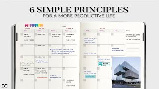6 Simple Ways t๐ be More Productive in Architecture / Daily Productive Habits