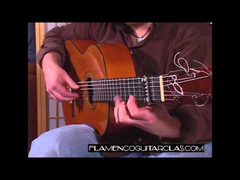 Flamenco Guitar Class - Seguiriyas No.8 (Despacito)