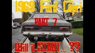 1969 FORD CAPRI Barnfind - Will it start? - PART 7