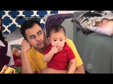 Kebersamaan Raffi Ahmad Dengan Anak dan Keluarganya di Lokasi Syuting