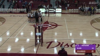 BSDN Live - Blair vs Columbus - Volleyball -2018
