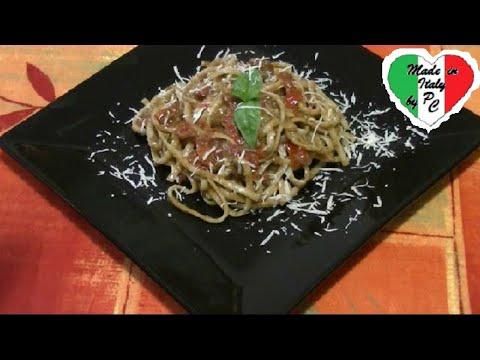 Clases de cocina italiana 25 pasta con pesto rojo youtube for Clases cocina italiana