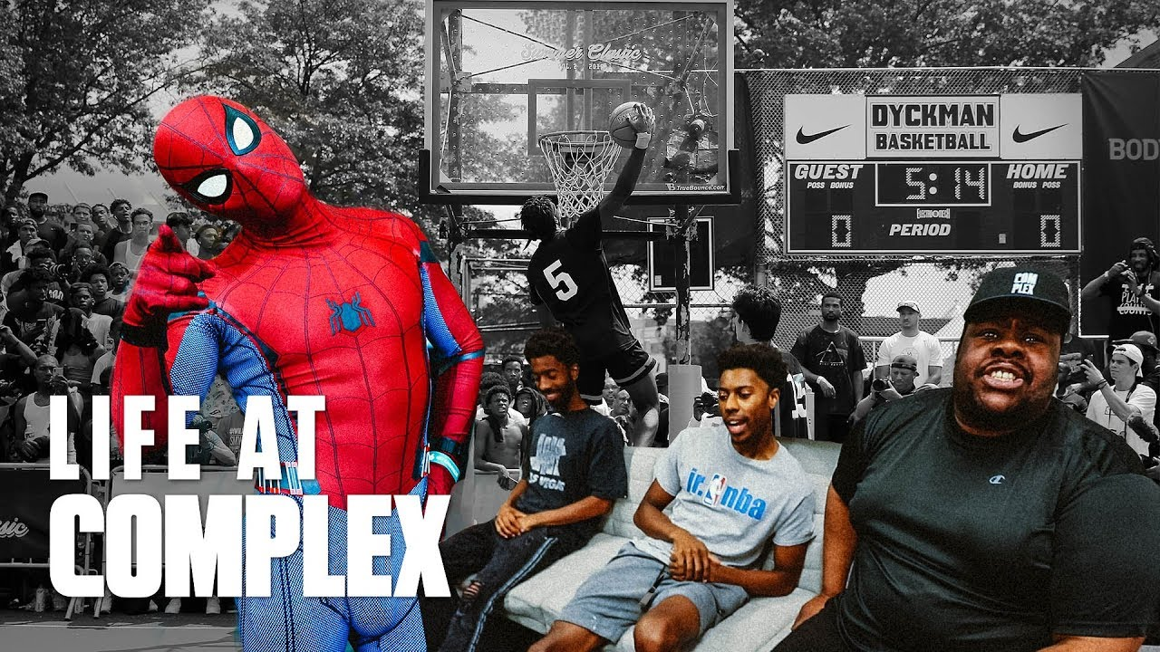 Spiderman Hoops At Dyckman Park... | #LIFEATCOMPLEX