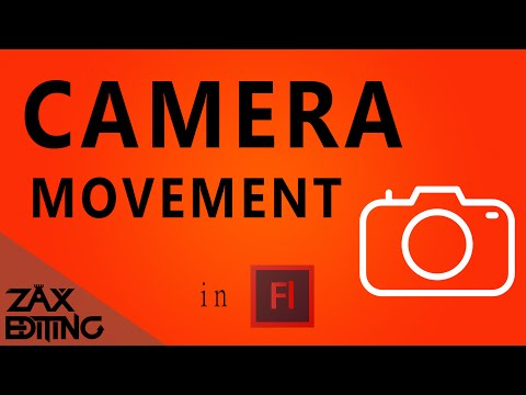 How to Make Camera Movement in Flash!   Adobe Flash Tutorial
