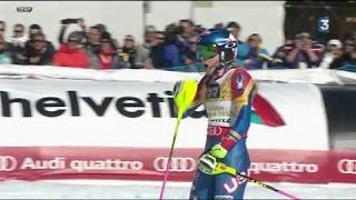 3e titre consécutif en slalom pour Mikaela Shiffrin, une légende à seulement 21 ans !