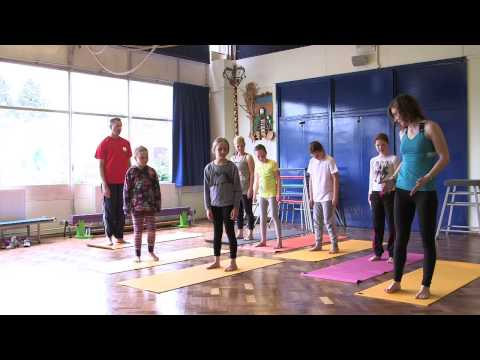 Yoga For Kids - Warm Up Video