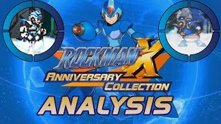 Mega Man X Legacy Collection ANALYSIS - First X Challenge Gameplay & Menu Tour Live Footage