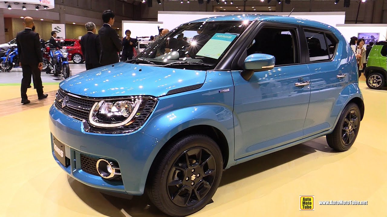 2016 suzuki ignis hybrid exterior and interior walkaround debut 2015 tokyo motor show youtube. Black Bedroom Furniture Sets. Home Design Ideas