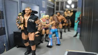 WWE ACTION FIGURE SETUP! WRESTLEMANIA 34 EDITION!