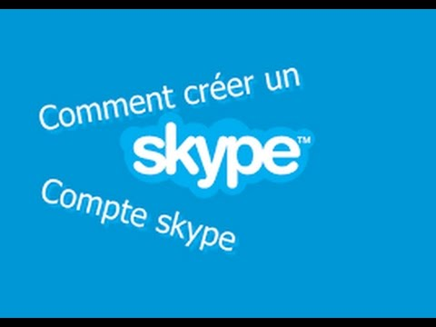 tuto comment cr er un compte skype youtube. Black Bedroom Furniture Sets. Home Design Ideas