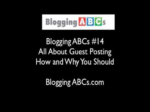 All About Guest Posting on Blogs and Websites-- Why and How To