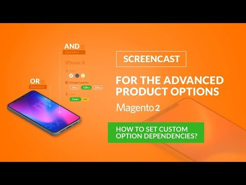 How to set custom options dependencies?/ Advanced Product Options Magento 2.