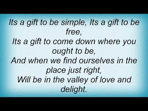 Jewel - Simple Gifts Lyrics