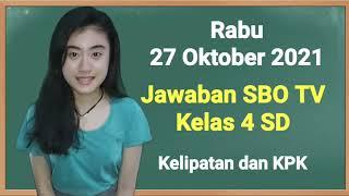 Download Kunci Jawaban Jawa Pos TV Rabu 27 Oktober 2021 Kelas 4 SD