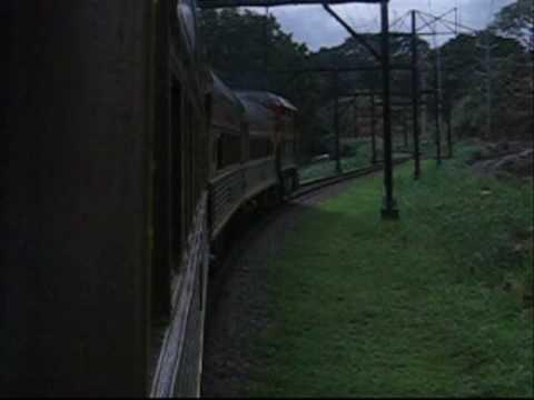 Riding the Panama Canal Railroad