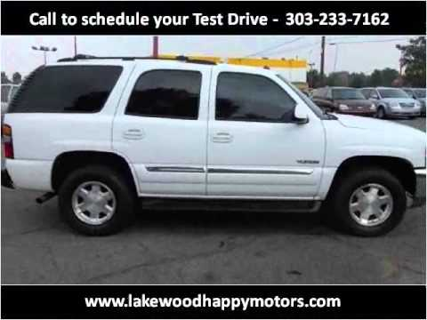 2004 gmc yukon used cars lakewood co youtube for Happy motors inc lakewood co
