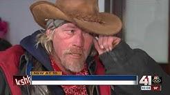Homeless man finds friend frozen to death