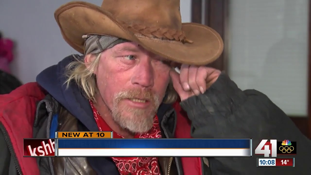 Homeless man finds friend frozen to death - YouTube