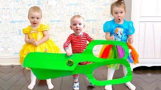 Five Kids Magic Scissors + more Children's Videos