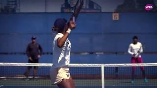 Venus Williams and Madison Keys Practice | Mubadala Silicon Valley Classic 2018