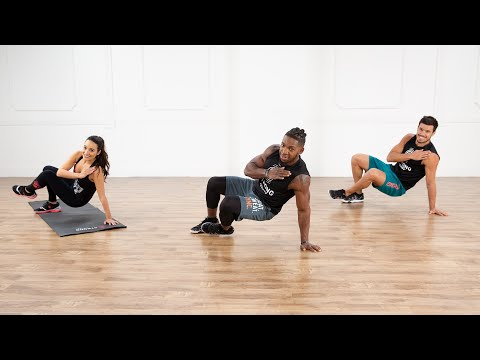 Work Your Arms, Back, and Chest With This 7-Minute No-Equipment STRONG by Zumba Workout