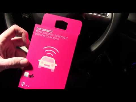 Teil 2/2 - Unboxing, Einrichtung und Test von Telekom CarConnect - WLAN und LTE im Auto