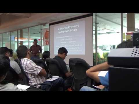 Software Architecture vs. Code - Anurag Sharma at Software Architects Meetup