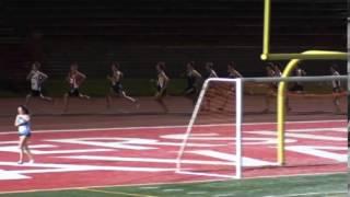 Soirée Rouge et Or athlétisme à Québec Université Laval course 800m