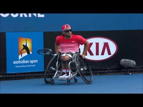 Quad Wheelchair Singles Championship   Australian Open 2016  - Alcott vs Wagner