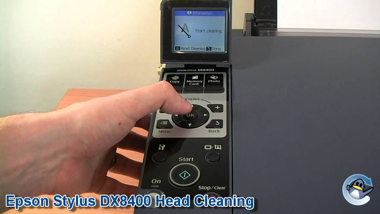 how to do head cleaning on a epson stylus dx8400 youtube rh youtube com epson stylus dx8400 service manual epson stylus dx8400 manuel