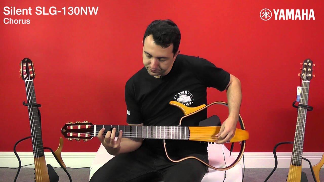 Viol o yamaha silent slg130nw pedro lob o youtube for Yamaha silent guitar slg130nw