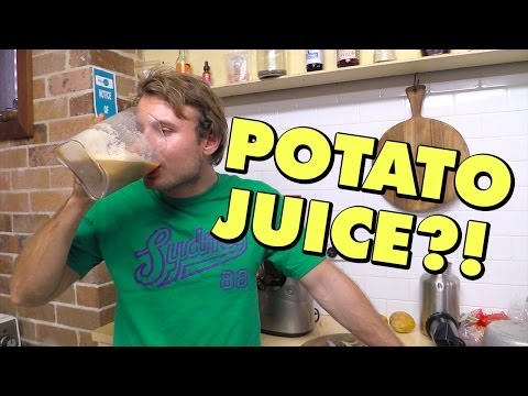 MAKING POTATO JUICE — New Juicer, First Attempt, & Potato Juice Benefits