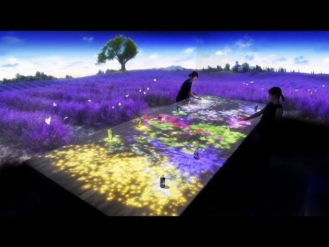 Digital Provence Theater by teamLab