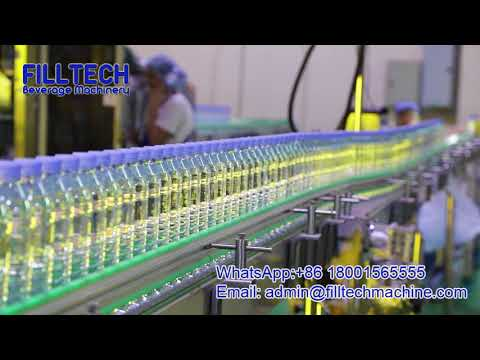 Bottled Water Production Line, Water Filling Machine, Water Bottling Plant