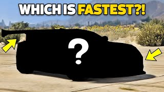 GTA 5 Online Which is Fastest Sport Cars (Max Speed, Price, Acceleration & More!)