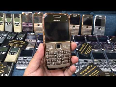 Bán Điện Thoại Cổ Nokia E72 zin chính hãng - trummayco.vn