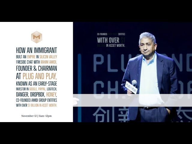 Ep5 - Fireside chat with Rahim Amidi - Founder & Chairman at Plug and Play