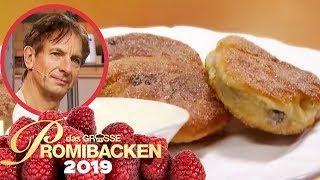 Süße Pfannkuchen: Ingolf Lücks Struwen 1/2 | Aufgabe | Das große Promibacken 2019 | SAT.1 TV