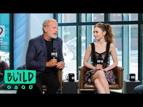 "Kelsey Grammer & Lily Collins Discuss ""The Last Tycoon"""